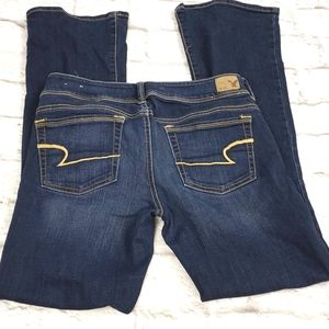 American Eagle Outfitters  Kick Boot Jeans Size 8